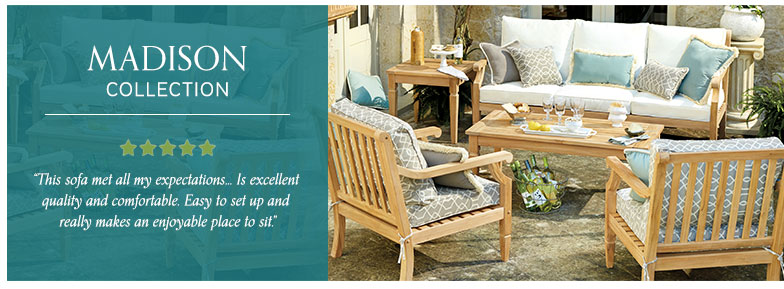madison outdoor furniture collection ballard designs