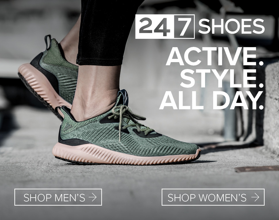 24.7 SHOES - Active. Style. All Day.