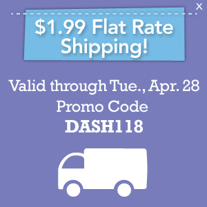 $1.99 Flat Rate Shipping